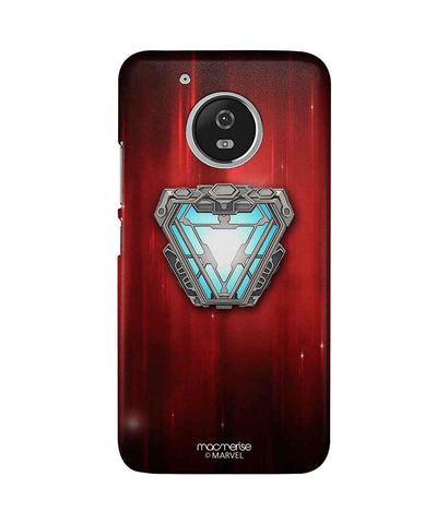 Iron man Infinity Arc Reactor - Sublime Phone Case For Moto G5 Plus