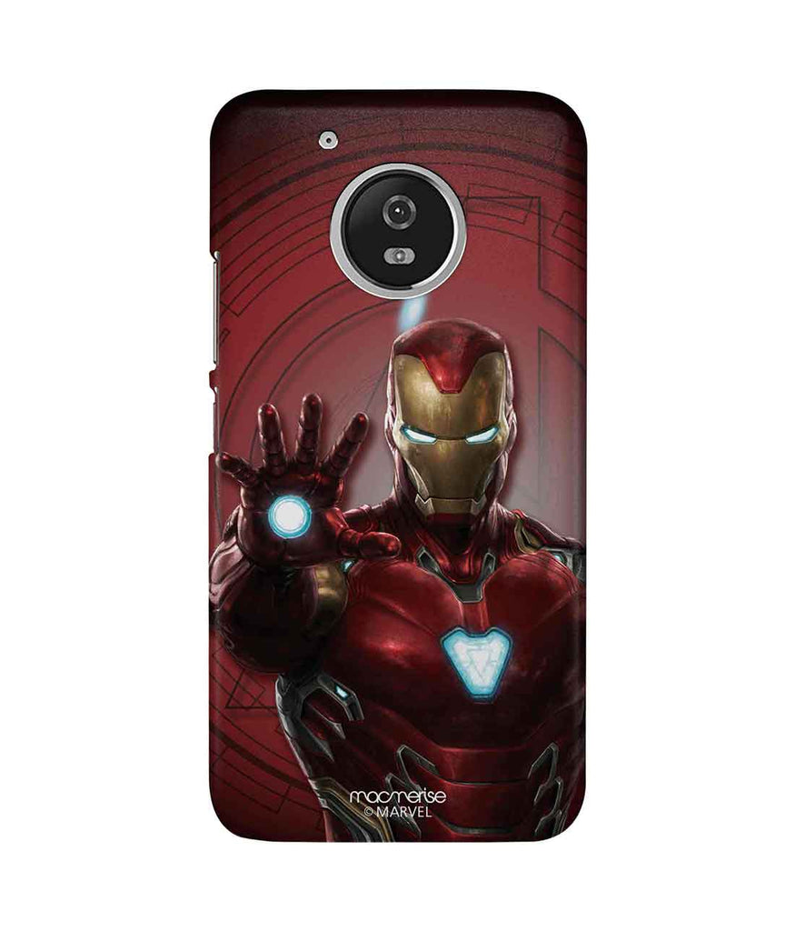 detailed look 86353 f4063 Iron man Mark L Armor - Sublime Phone Case For Moto G5 Plus
