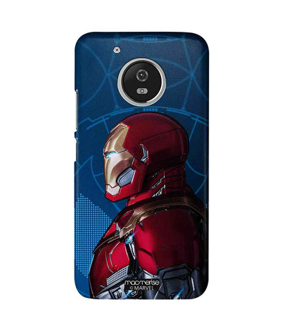 Iron Man side Armor - Sublime Phone Case For Moto G5 Plus