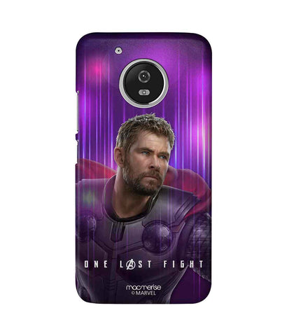 One Last Fight - Sublime Phone Case For Moto G5 Plus