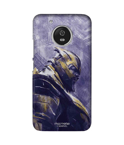Thanos suited up - Sublime Phone Case For Moto G5 Plus