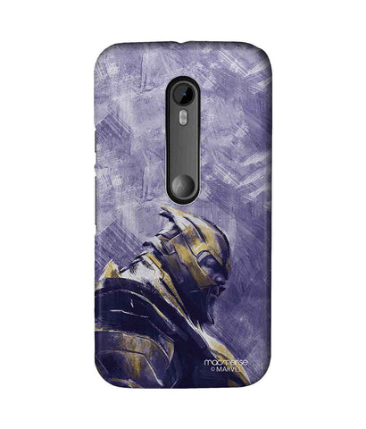 Thanos suited up - Sublime Phone Case For Moto G Turbo