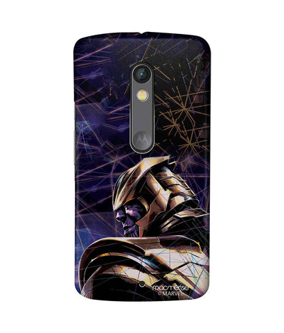 Thanos on Edge - Sublime Phone Case For Moto X Play
