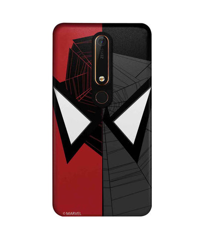 Face Focus Spiderman - Sublime Phone Cases For Nokia 6.1