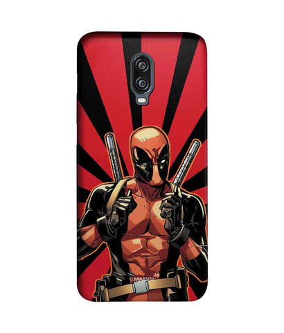 Smart Ass Deadpool - Sublime Phone Cases For OnePlus 6T