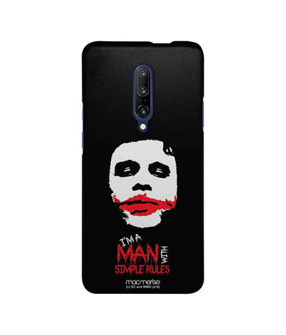 Man With Simple Rules - Sublime Case For OnePlus 7 Pro