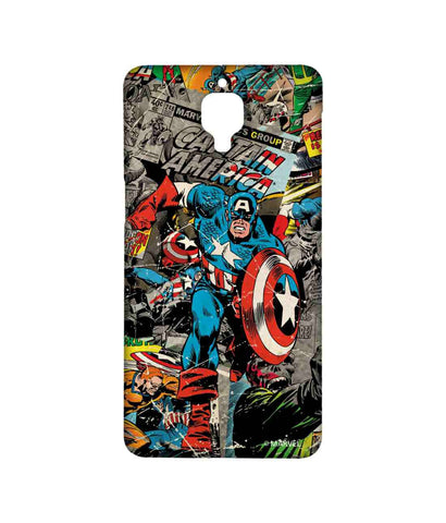 Comic Captain America - Sublime phone cases For OnePlus 3