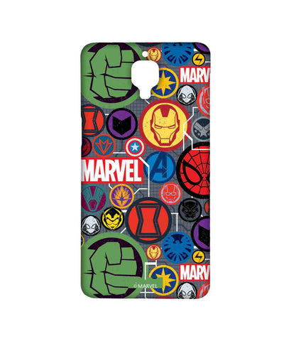 Marvel Iconic Mashup - Sublime phone cases For OnePlus 3