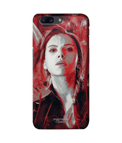 Charcoal Art Black Widow - Pro Phone Case For OnePlus 5