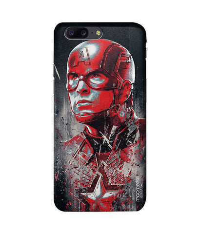 Charcoal Art Captain America - Pro Phone Case For OnePlus 5