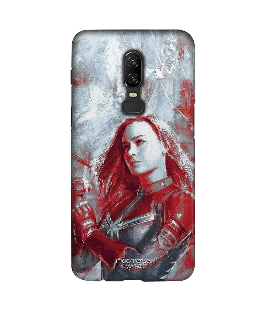 online store 79a68 bbd9b Charcoal Art Capt Marvel - Sublime Phone Case For OnePlus 6