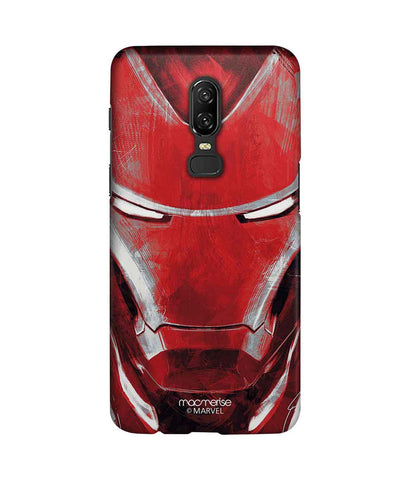 Charcoal Art Iron man - Sublime Phone Case For OnePlus 6