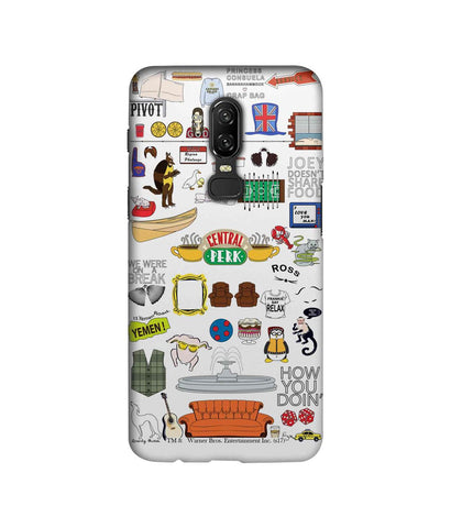 Friends Doodle - Sublime Phone Cases For OnePlus 6