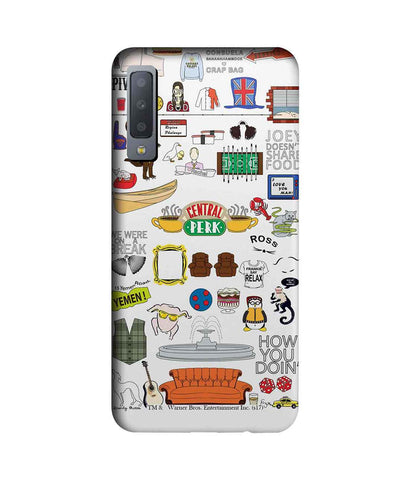 Friends Doodle - Sublime Phone Cases For Samsung A7 (2018)