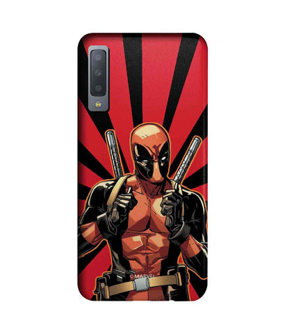 Smart Ass Deadpool - Sublime Phone Cases For Samsung A7 (2018)