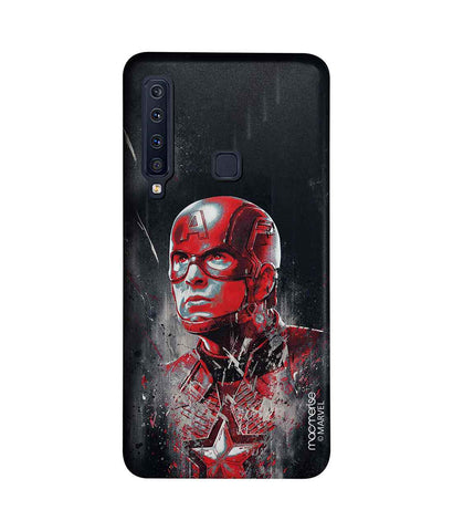Charcoal Art Captain America - Sublime Phone Case For Samsung A9 (2018)