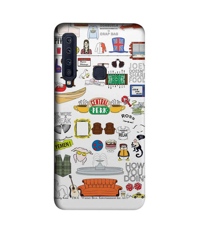 Friends Doodle - Sublime Phone Cases For Samsung A9 (2018)