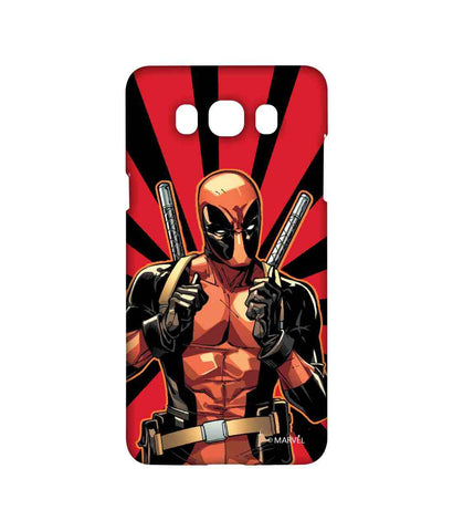 Smart Ass Deadpool - Sublime Phone Cases For Samsung J7 (2016)