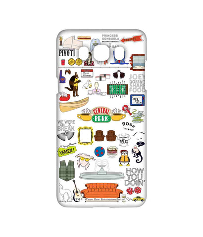 Friends Doodle - Sublime Phone Cases For Samsung On8