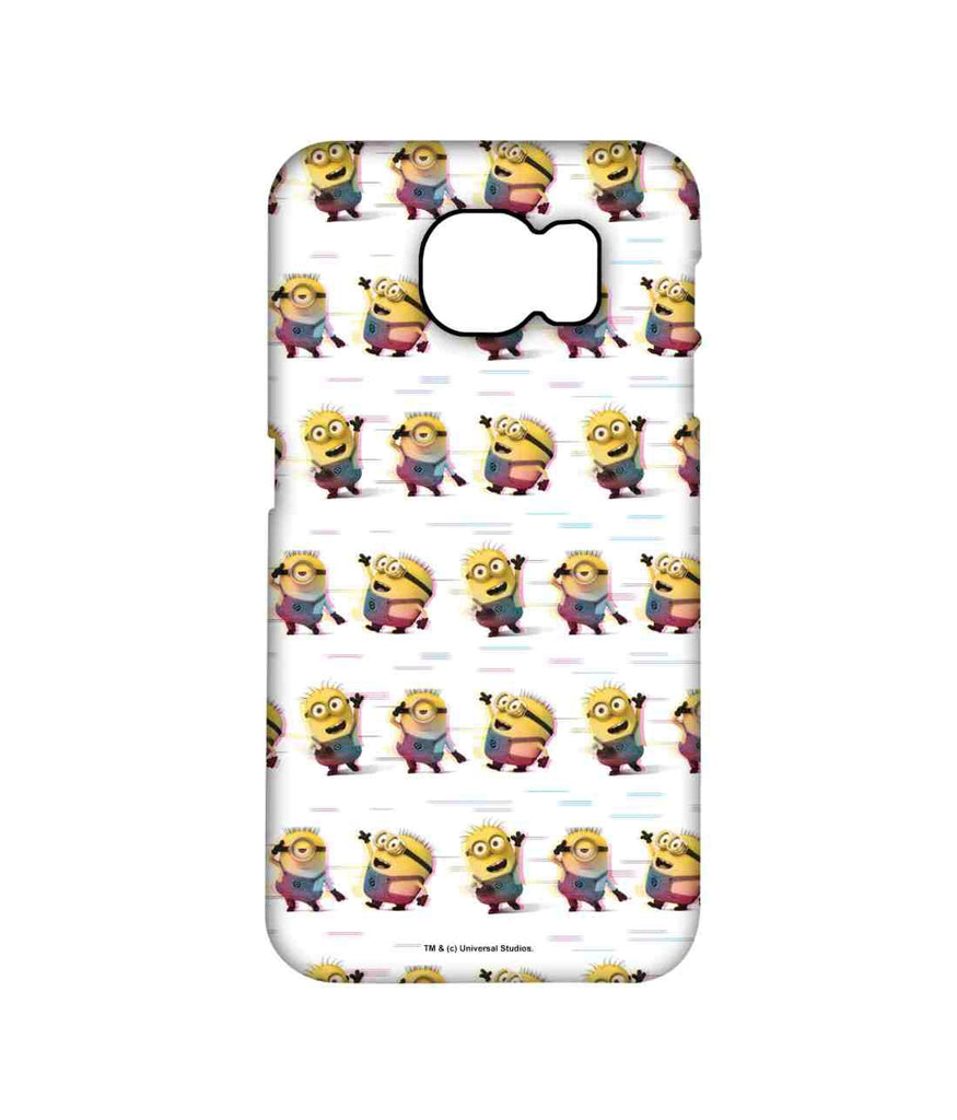 Groovy Minions White - Pro Phone Cases For Samsung Samsung S7 Edge