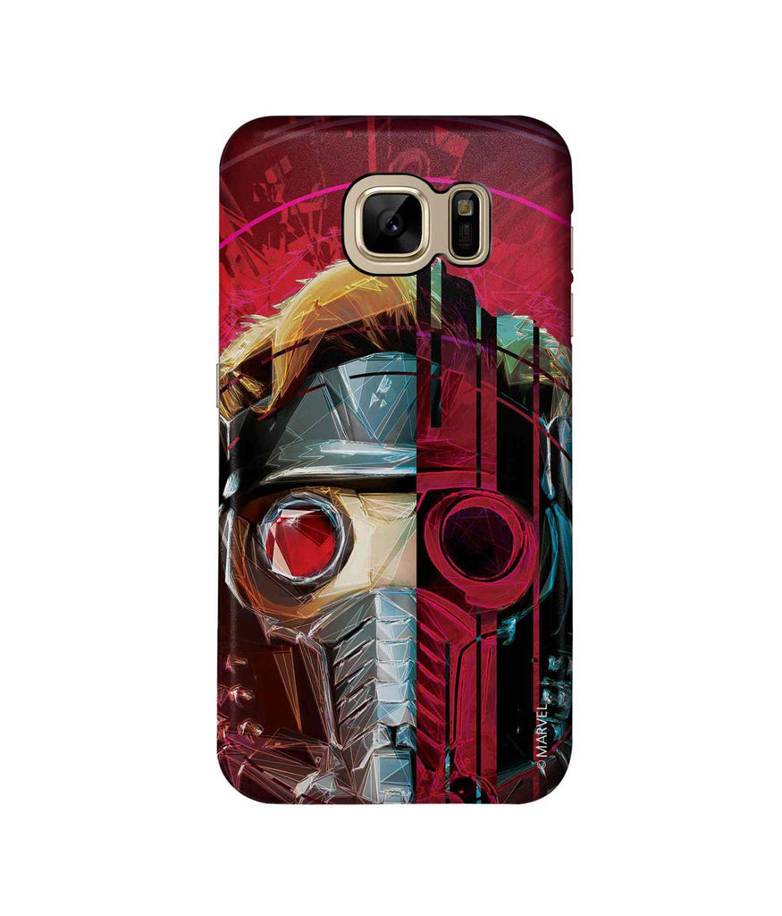 Grunge Suit StarLord - Pro Phone Cases For Samsung Samsung S7 Edge