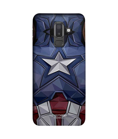 Captain America Vintage Suit - Sublime Phone Case For Samsung J8