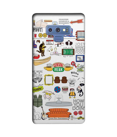 Friends Doodle - Sublime Phone Cases For Samsung Note 9