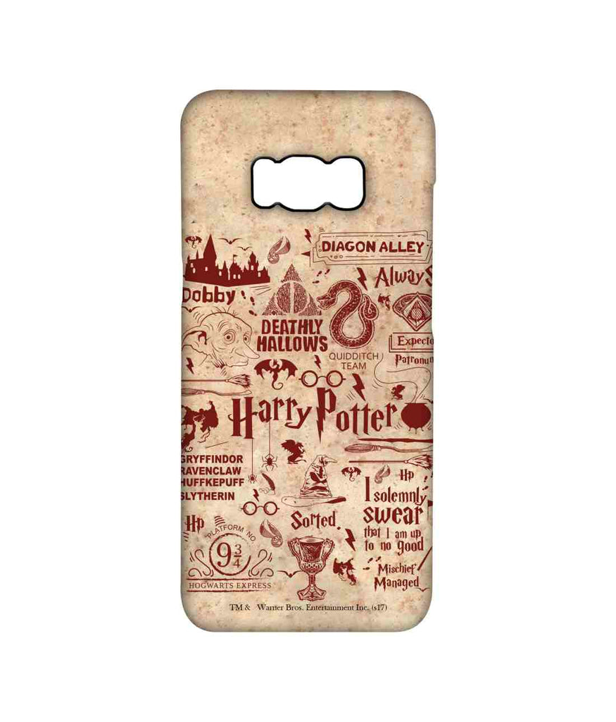 Harry Potter Infographic Red - Pro Phone Cases For Samsung Samsung S8