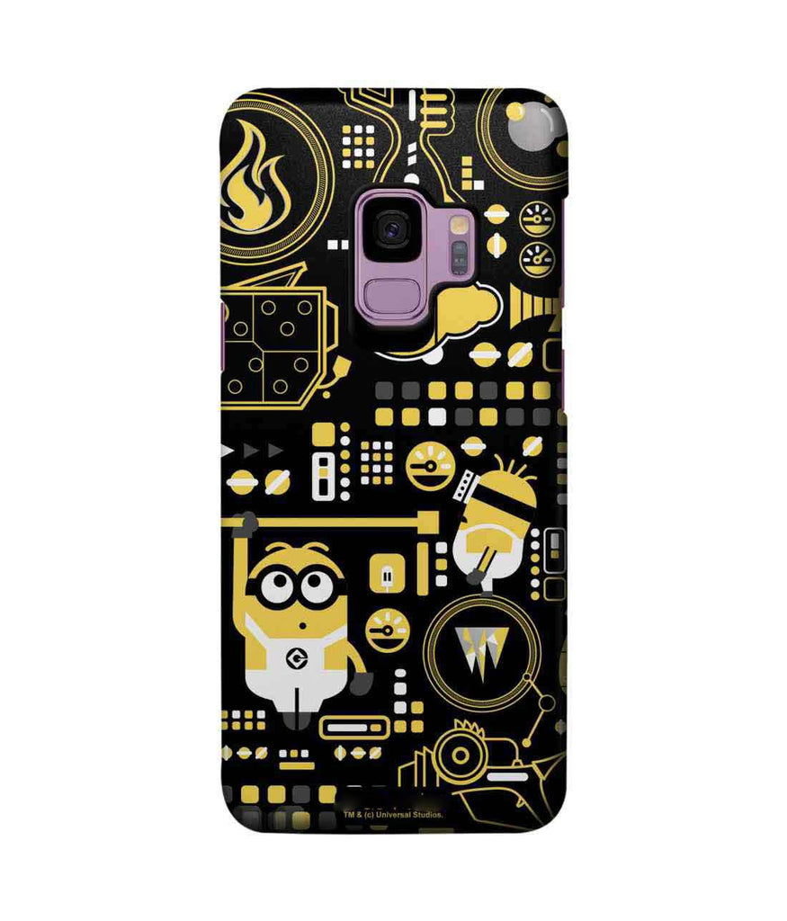 Grus Work Mess - Pro Phone Cases For Samsung Samsung S9