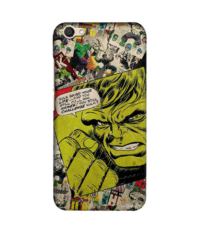 Comic Hulk - Sublime Phone Cases For Vivo V5