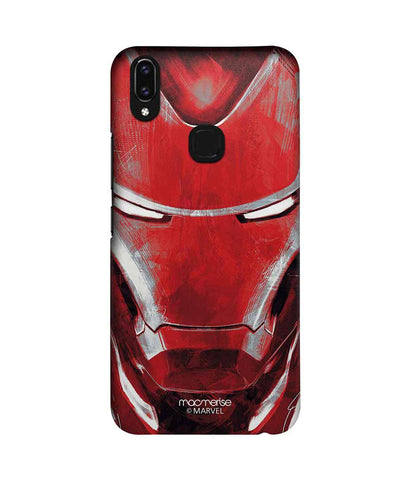 Charcoal Art Iron man - Sublime Phone Case For Vivo V9