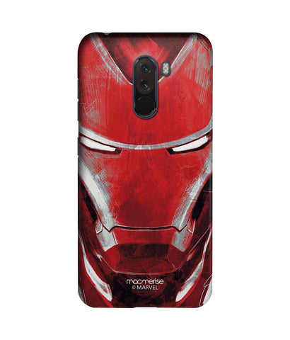 Charcoal Art Iron man - Sublime Phone Case For Xiaomi Poco F1