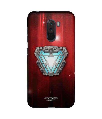 Iron man Infinity Arc Reactor - Sublime Phone Case For Xiaomi Poco F1