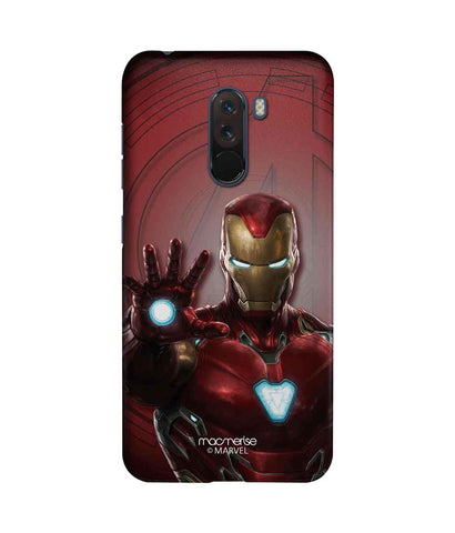 Iron man Mark L Armor - Sublime Phone Case For Xiaomi Poco F1