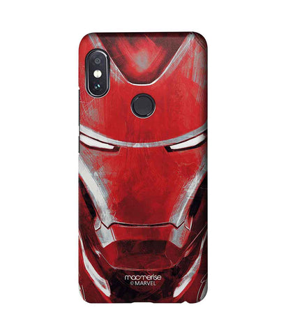 Charcoal Art Iron man - Sublime Phone Case For Xiaomi Redmi Note 5 Pro