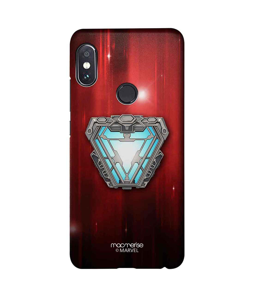 new style 74f05 97c35 Iron man Infinity Arc Reactor - Sublime Phone Case For Xiaomi Redmi Note 5  Pro