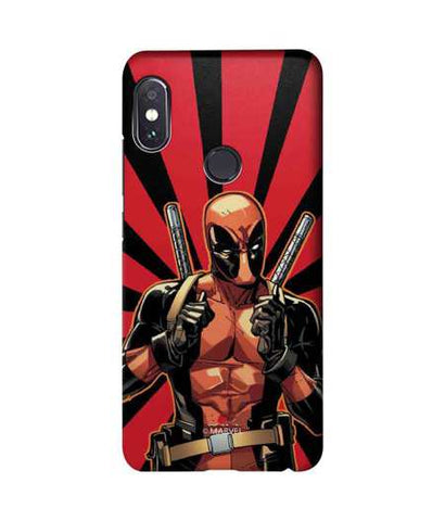 Smart Ass Deadpool - Sublime Phone Cases For Xiaomi Redmi Note 5 Pro