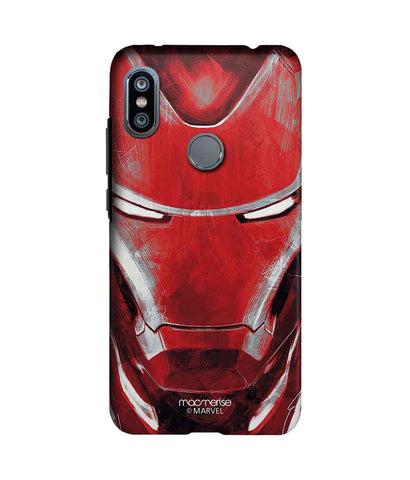 Charcoal Art Iron man - Sublime Phone Case For Xiaomi Redmi Note 6 Pro