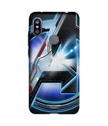 Endgame Logo Grey - Sublime Phone Case For Xiaomi Redmi Note 6 Pro