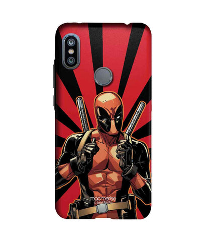 Smart Ass Deadpool - Sublime Phone Cases For Xiaomi Redmi Note 6 Pro