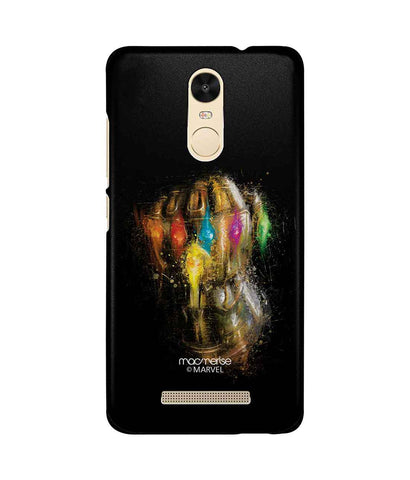 Gauntlet Brushstrokes - Sublime Phone Case For Xiaomi Redmi Note 3