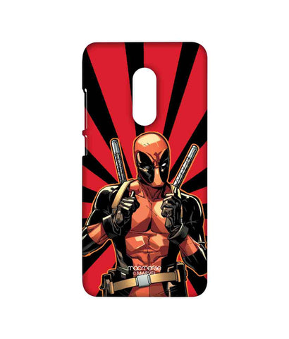 Smart Ass Deadpool - Sublime phone cases For Xiaomi Redmi Note 4