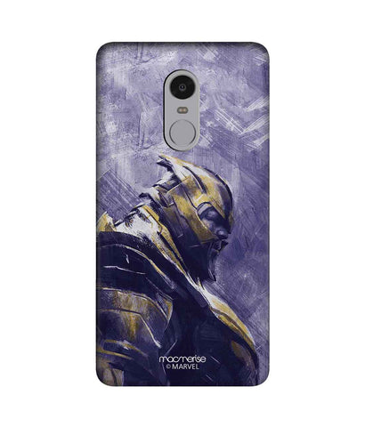 Thanos suited up - Sublime Phone Case For Xiaomi Redmi Note 4