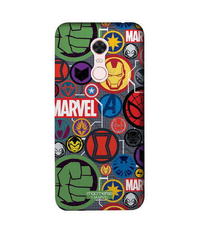 Marvel Iconic Mashup - Sublime Phone Cases For Xiaomi Redmi Note 5