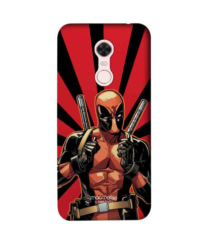 Smart Ass Deadpool - Sublime Phone Cases For Xiaomi Redmi Note 5