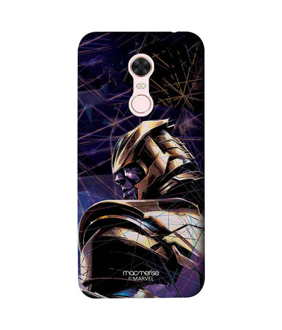 Thanos on Edge - Sublime Phone Case For Xiaomi Redmi Note 5