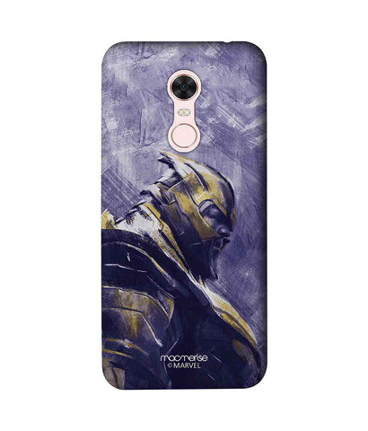 Thanos suited up - Sublime Phone Case For Xiaomi Redmi Note 5
