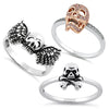 Ladies' Skull Rings