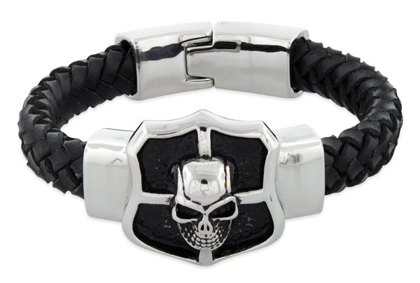 products/stainless-steel-crest-shield-skull-leather-bracelet-19.jpg