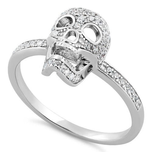 Skull ring for her Women/'s skull ring Movies silver jewelry Silver skull jewelry